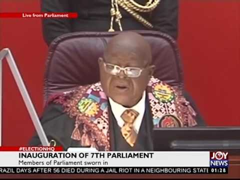 Member of Parliament sworn in - #Election HQ on Joy News (7-1-17)