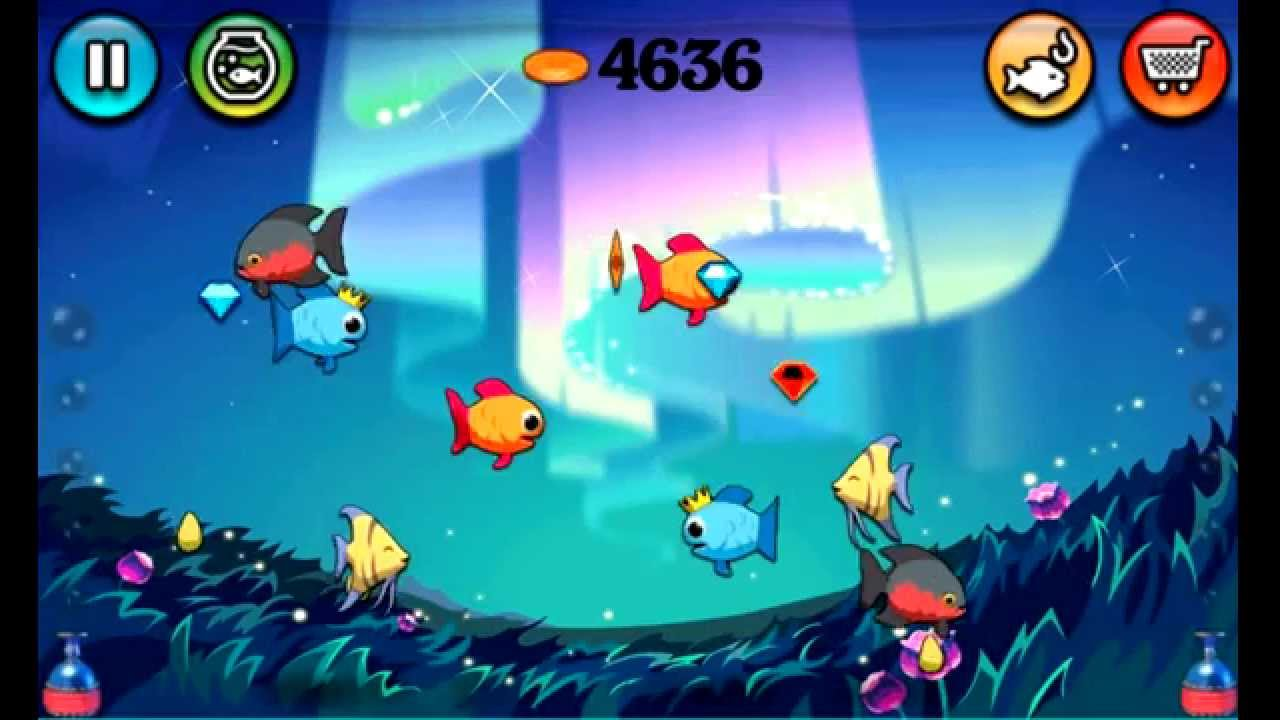 fish tank game free youtube