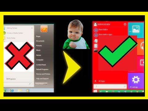 Windows 10 Start Menu For Windows 7 And Windows 8.1..