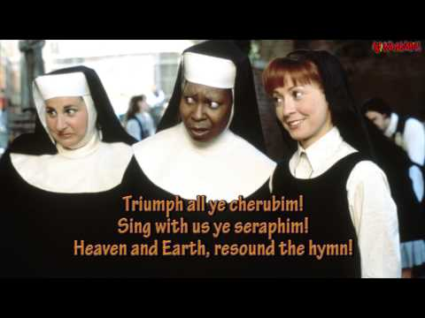 Sister Act - Hail Holy Queen (Lyrics)