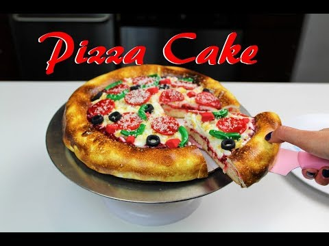 pizza birthday cake easy pizza cake chelsweets 6618