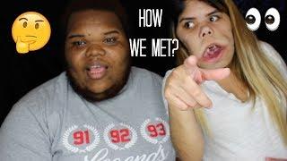 How we met!!!