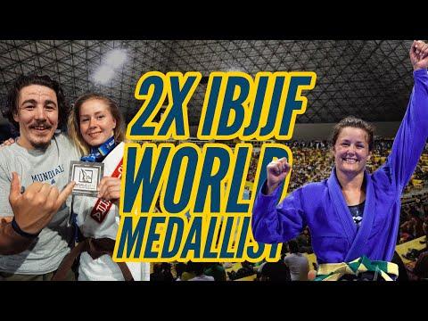 FIRST 2X BRITISH BJJ BLACK BELT WORLD MEDALLIST - Mundials 2K19