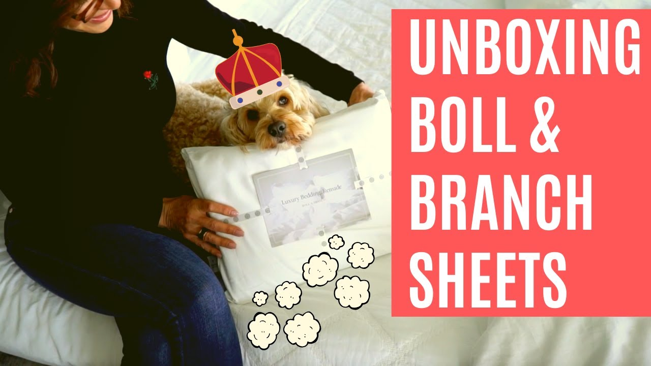 Unboxing Sheets From Boll Branch Youtube