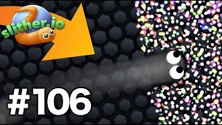 Invisible NINJA Skin mod/hack INSANE KILLS! - Slither.io Gameplay Part 106