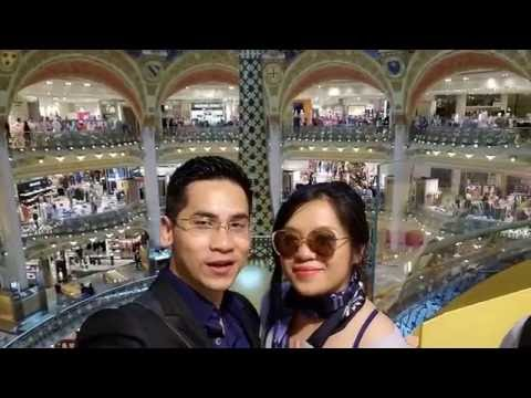 Galeries Lafayette, And A Surprise At The Top! (Paris Adventure Vlog)