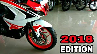 BAJAJ Pulsar RS200  || 2018 RED Racing Sports Edition || WALKAROUND