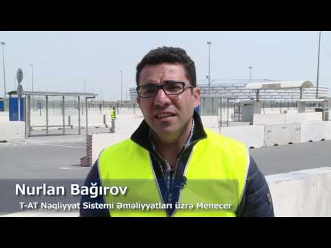 Baku 2017 - Transport Operations