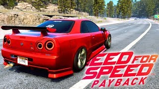 NEED FOR SPEED PAYBACK - COMPREI um NISSAN SKYLINE!!! #15