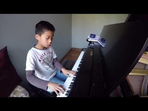 Nathan Wu plays Mozart Sonata in C major, K 545, 1st mvt