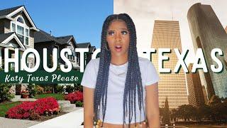 MOVING TO HOUSTON TEXAS ? | GOOD NEIGHBORHOODS LIVING IN HOUSTON + TOUR WITH ME KATY TEXAS P1
