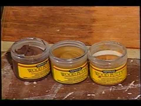 Wood Putty Youtube
