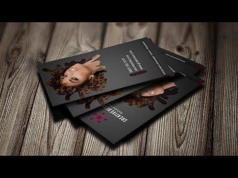 Beautiful Business Card Design | Photoshop Tutorial thumbnail