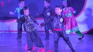 S.e.international school Annual Day 2015-16   Welcome song performed by Jr. K.g. and Sr. K.g.