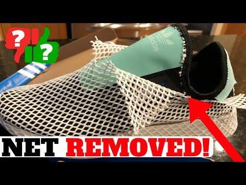 MESH NET REMOVED: Adidas DEERUPT Runner