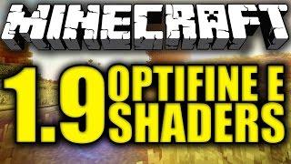 COME INSTALLARE OPTIFINE E SHADERS 1.9 [Minecraft Tutorial]