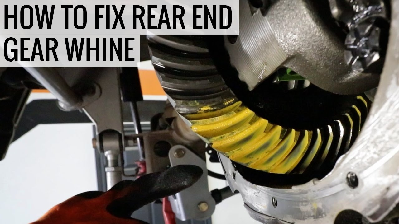 how to make gears whine