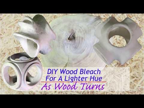 DIY Wood Bleach For A Lighter Hue