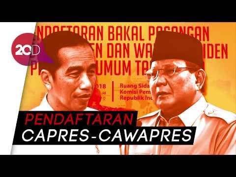 Menanti Prabowo-Sandi dan Jokowi-Ma'ruf Amin di KPU
