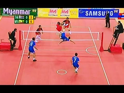 Thailand - Myanmar SepakTakraw 27th SEA Games 2013