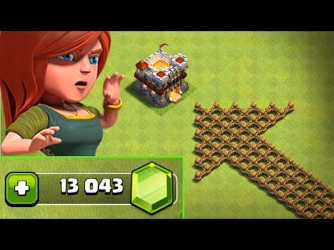CAN IT BE SAVED!?! - Clash Of Clans - GEMMING TO SAVE TOWN HALL 11!