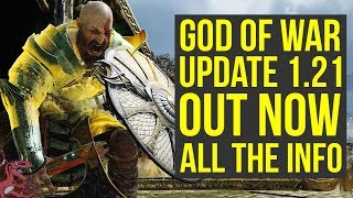 God of War Update 1.21 OUT NOW - Adds Photo Mode & Way More (God of War 4 Update 1.21)