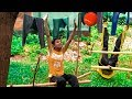 Funny Kids play with ball, Fun Outdoor Playground Nursery Rhymes Songs for kids and Children #lc24