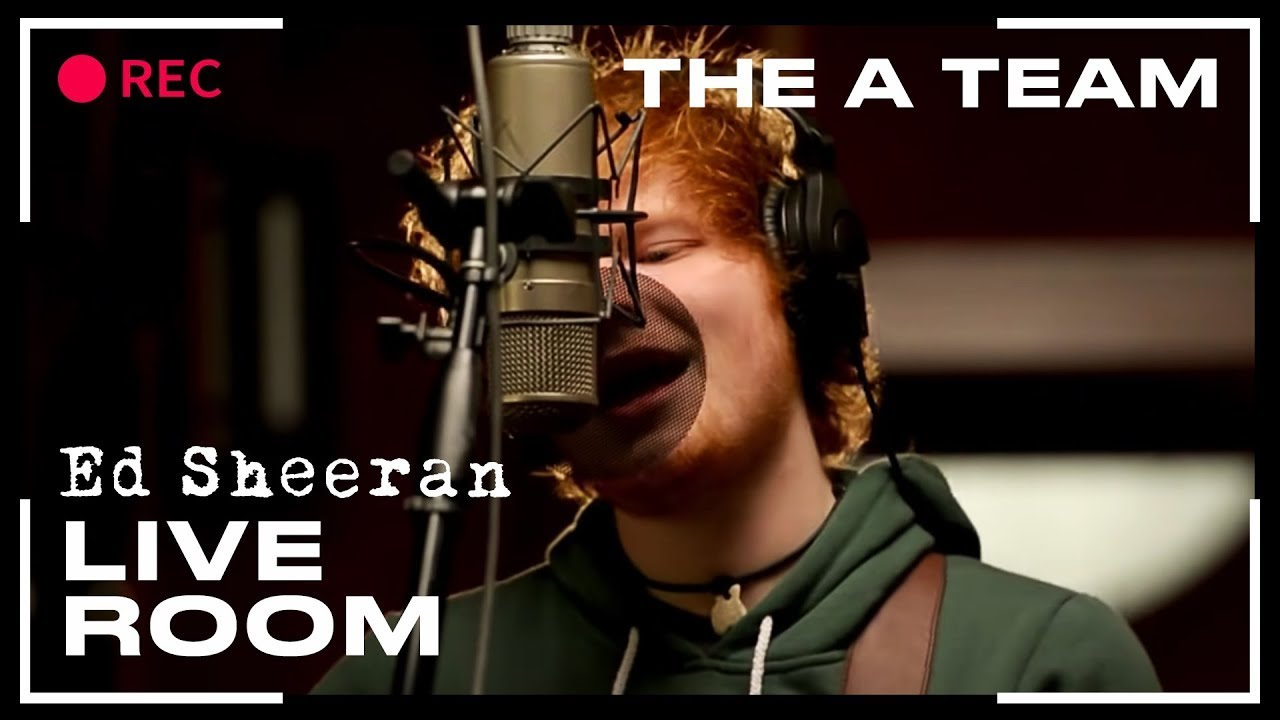 Ed Sheeran Give Me Love Captured In The Live Room