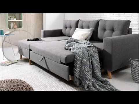nordic canap d 39 angle r versible et convertible au design scandinave youtube. Black Bedroom Furniture Sets. Home Design Ideas