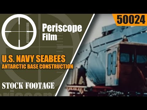U.S. NAVY SEABEES IN THE ANTARCTIC  BASE CONSTRUCTION 1957-58 50024