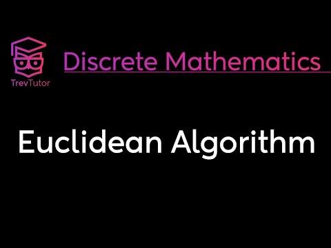 [Discrete Math 1] Euclidian Algorithm