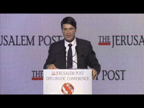 Jerusalem Post Diplomatic Conference: French Ambassador Patrick Maisonnave