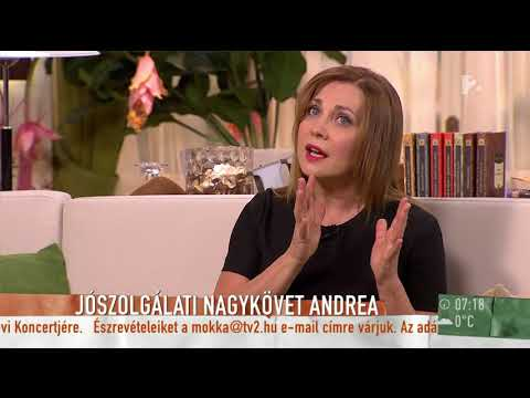 Rost Andrea Jószolgálati Nagykövetként segíti a mozgáskorlátozott gyermekeket - tv2.hu/mokka
