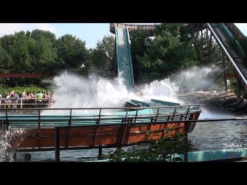 Niederlande Slagharen Themepark Resort alle Attraktionen La-Di-Da Carnaval