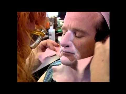 Behind the scenes look on mrs doubtfire makeup
