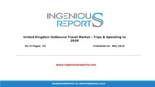 2020 United Kingdom Outbound Tourists Spending in India & Market Size, Trends and Share Analysis