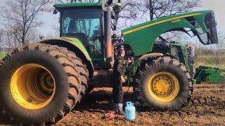 трактор John Deere 8430 ремонт, диагностика и заправка кондиционера.(, 2016-04-08T16:42:04.000Z)