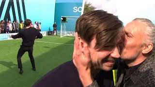 Jimmy Bullard kisses David Kross after he hits the top bin! | Soccer AM Pro AM