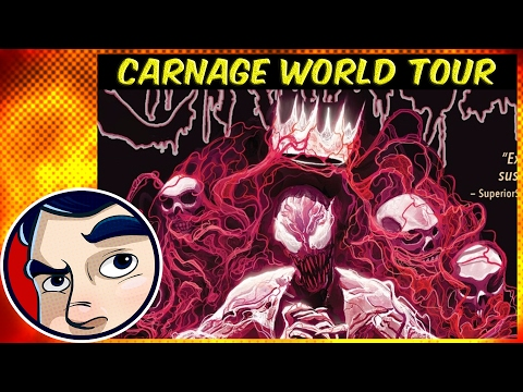 """Carnage Uses the Darkhold """"World Tour"""" Vol 2 - ANAD Complete Story"""