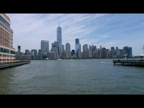 Paseo en Jersey City,New Jersey,EEUU.