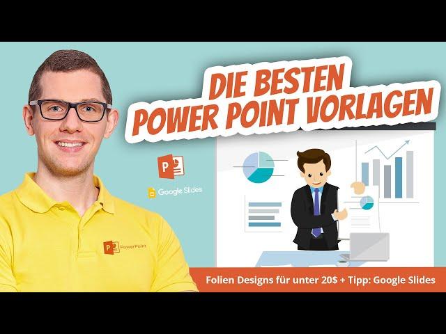 Die besten Power Point Vorlagen, Folien Design & Muster für Präsentationen 🥇  + Tipp: Google Slides
