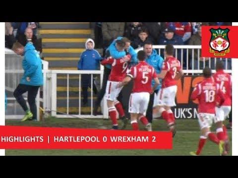 Hartlepool United 0 Wrexham 2