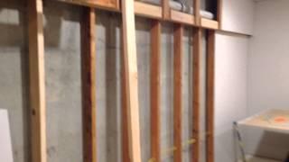 Finishing my Basement Part 5 - Hanging SheetRock
