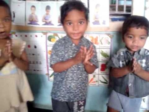 ANGANWADI PRAYER, RHYMES, SONGS IN ANDHRA PRADESH