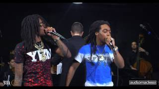 "Migos Performs ""Hannah Montana"" w/ a Live Orchestra 