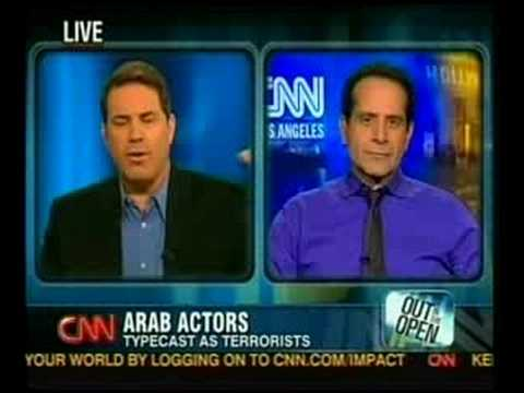 Sayed Badreya & Tony Shalhoub on CNN  AmericanEast film