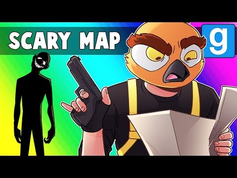 Gmod Scary Map Funny Moments - Leons Museum of Mazes and Memes!
