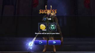 Marvel Future Fight- Shadowland Floor 5 Solo - Loki Vs Ronan