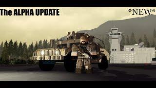 A MELHOR ATUALIZAÇÃO AINDA | A atualização Alpha | Roblox Black Hawk missão de resgate |