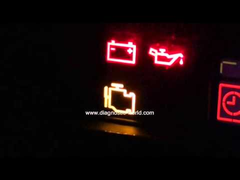 Citroen Engine Management Warning Light   Need To Diagnose